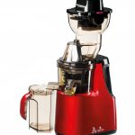 Acopino Delicato Entsafter Slow juicer rot